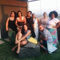 Só fera: Flavia Durante, Rita Carreira, Carol Santos, Filipe Menegoy, Alice Primo, Tati Souza, Dani Rudz e Mariana Cirne
