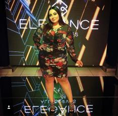 Deborah Fernandes - modelo e estilista