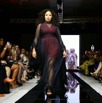 Rita Carreira - modelo plus size