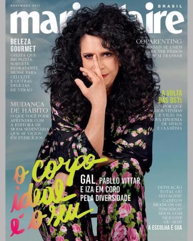 Uma das três capas: Gal Costa