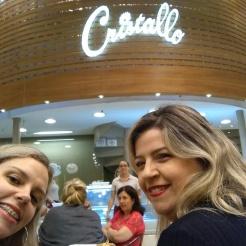 E um cafezinho na Cristallo com a Elly Marina