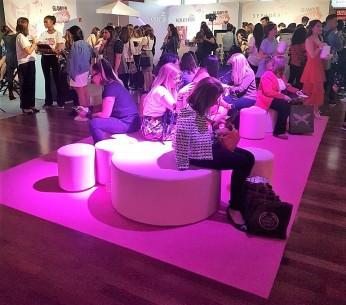 Lounge do evento