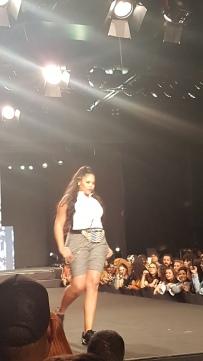A modelo plus size Rita Carreira