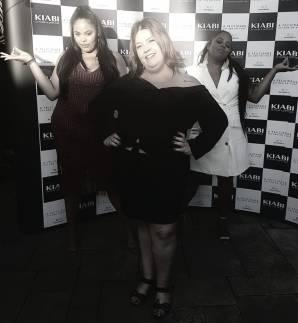 Rita Carreira e Carol Santos achando que eu sou zen